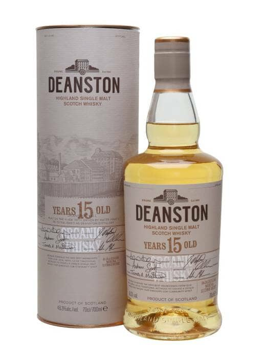 Deanston 15 Year Old Organic Whisky 46.3%
