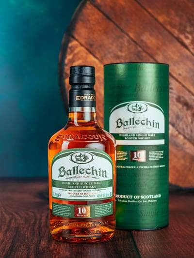 Ballechin 10 Year Old Heavily Peated 46%