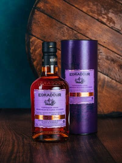 Edradour Bordeaux Cask Finish 21 Years Old 55.7%