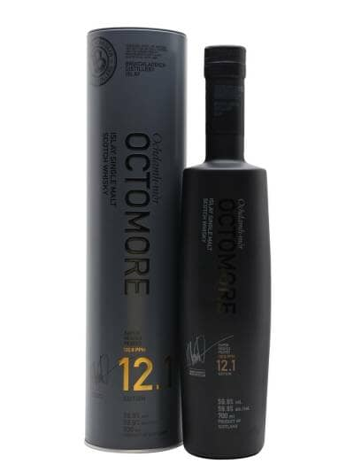 Octomore Edition 12.1 5 Year Old The Impossible Equation 59.9%
