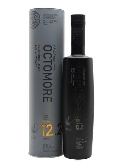 Octomore Edition 12.2 5 Year Old The Impossible Equation 57.3%