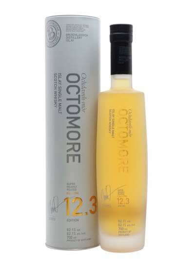 Octomore Edition 12.3 5 Year Old The Impossible Equation 62.1%